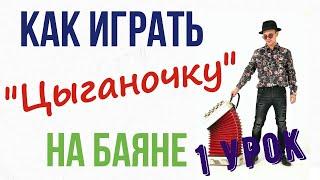 Урок игры на баяне ! Цыганочка ( 1 урок)(Уроки игры на баяне ,аккордеоне и гармошке! мой сайт: www.баянист.москва В данном видео разбирается основная..., 2016-02-06T08:47:43.000Z)