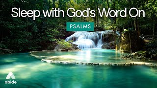 Sleep with God's Word: Psalm 23 & Psalm 91 Abide BIBLE SLEEP STORIES & Bible PSALMS for Deep Sleep
