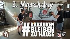#RabaukenBleibenZuhause | Matchday! - Werfen & Fangen mit Partner | FC St. Pauli TV