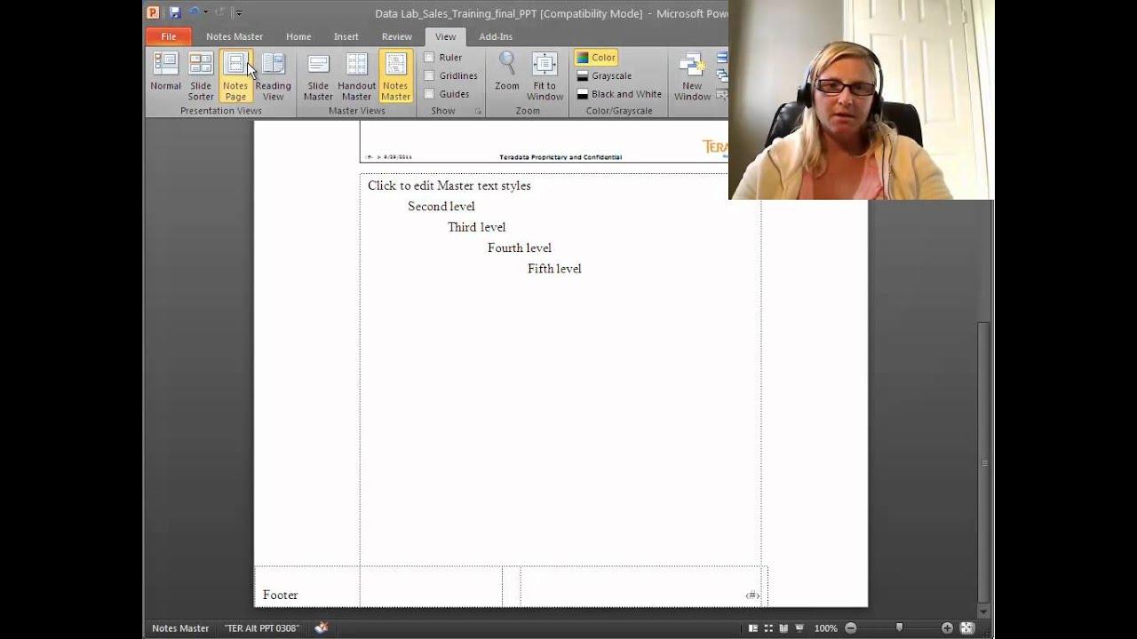 powerpoint 2010 essay