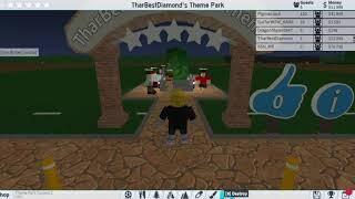 when i try to run my own theme park....| Roblox| Theme Park Tycoon 2