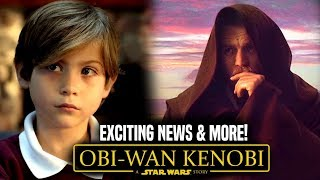 Obi Wan Kenobi Movie Exciting News & More! (Star Wars News)