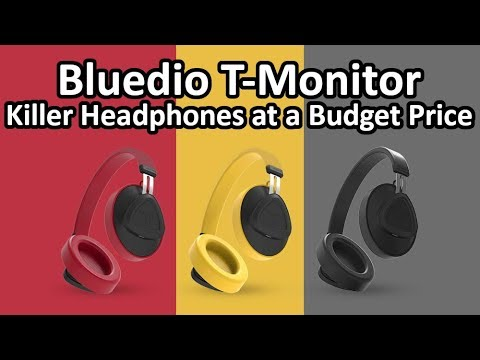 cd1d5ee551b Bluedio T-Monitor TM Bluetooth Headphones - Outstanding Sound for a Budget  Headphone