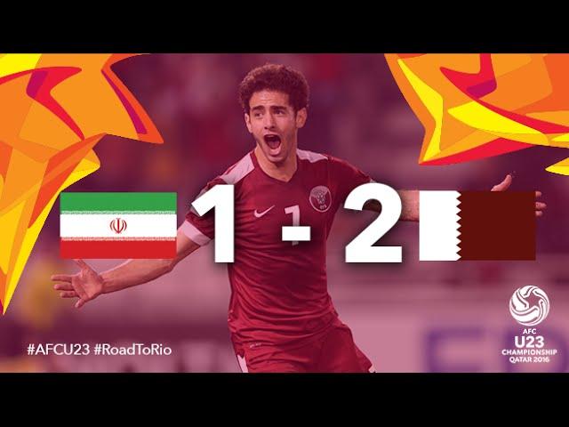 Video: U23 Iran vs U23 Qatar