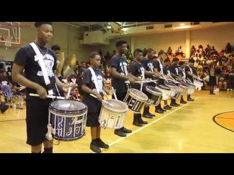 MEMPHIS ALUMNI VS ALLSTAR 2016 PERCUSSION BATTLE RD  1
