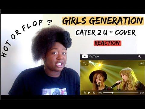 소녀시대-태티서(Girl's Generation-TTS) -  Cater 2 U - Honest Reaction