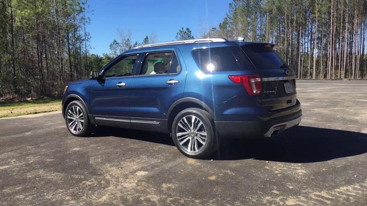 hd walkaround  ford explorer platinum exterior  interior youtube