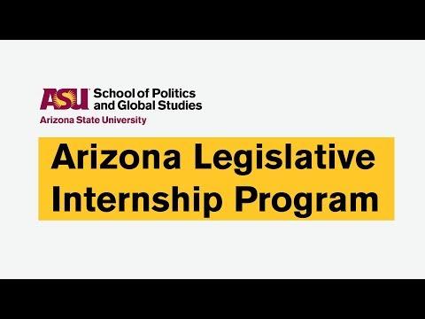 What is the Arizona Legislative Internship Program?