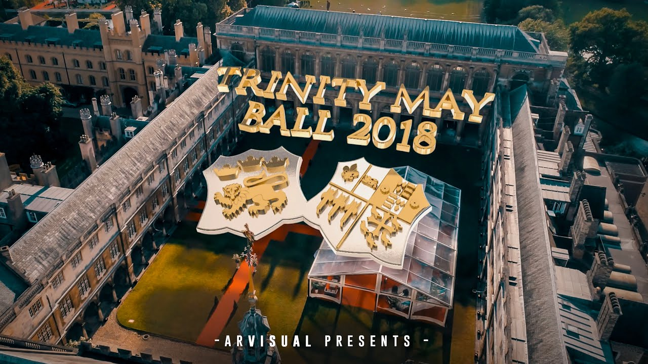 Welcome Trinity May Ball 2019