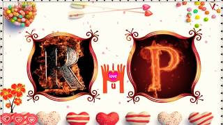 R♡ P Letter Status Video || Tu jo Kah De Agar || Sad Whatsapp Status Video