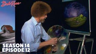 Bob Ross - Misty Forest Oval (Season 14 Episode 12)