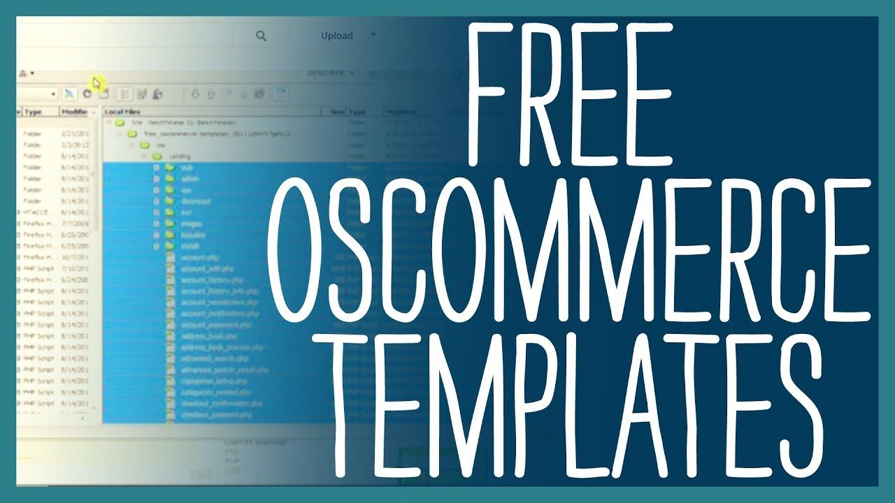 20+best premium oscommerce templates | free & premium templates.