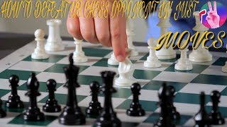 HOW TO DEFEAT UR CHESS OPPONENT IN JUST 2 STEPS???(IN NEPALI WITH DIFFERENT VIEWS)