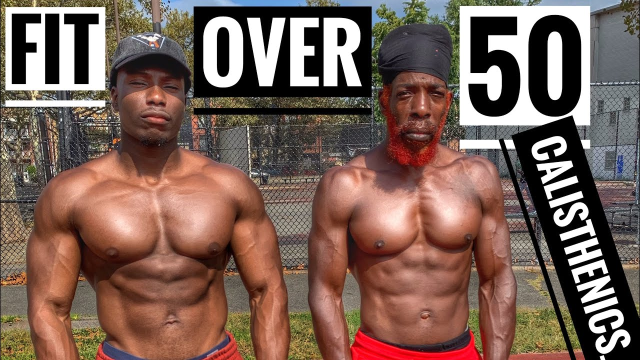 male fitness model over 50 years old