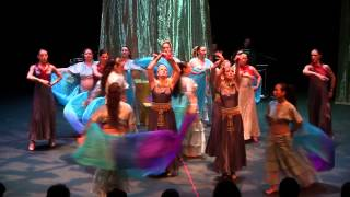 Bolero Dance Theatre - Cleopatra Live - Waves Scene