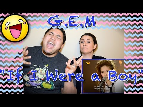 G.E.M | If I Were A Boy (Beyonce) AMAZING performance|COUPLES REACTION