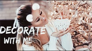 Decorating My Christmas Tree With Me || Pink+ Silver + Gold Theme|| Holiday Decor 2018