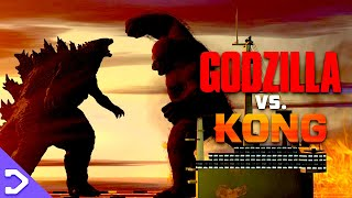 FIRST LOOK At Godzilla VS Kong! (LEAKED FOOTAGE)