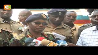 VIDEO: IG Boinett has warned Cord leaders against staging their protests