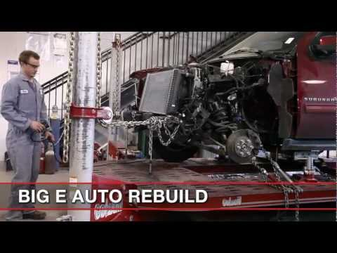 auto body repair straighten frame