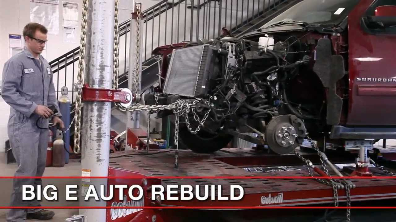 Auto Body Repair Straighten Frame Youtube