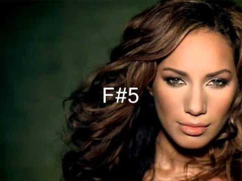 Leona Lewis Spirit Vocal Range C3 - Eb6