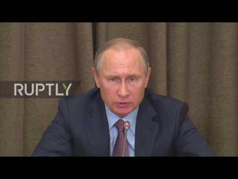Russia: Navy launches 'large-scale' operation in Syria - Shoigu informs Putin