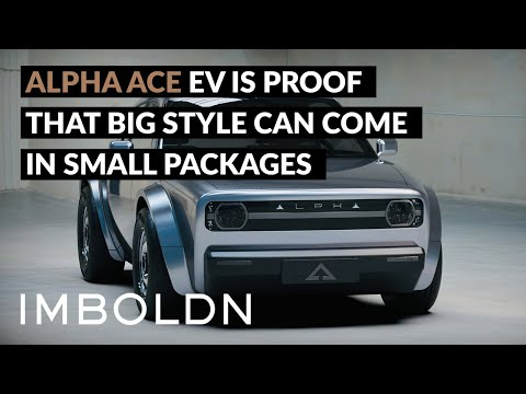 Alpha Ace EV Is Proof That Big Style Can Come In Small Packages
