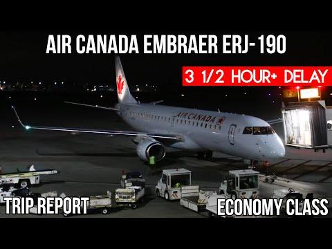 [TRIP REPORT] Air Canada Embraer ERJ-190 (ECONOMY) Ottawa (YOW) - Toronto (YYZ)