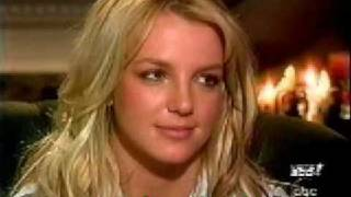 Britney Spears crying over Justin