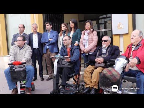 VÍDEO: Presentado el elevador para hacer los juzgados de Lucena accesibles que cierra casi una década de reivindicaciones.