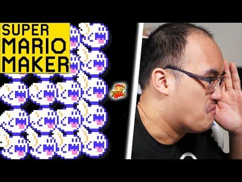 FANTÔMES MANIA !   Super Mario Maker