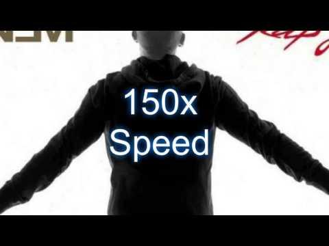 Eminem - Rap God (Explicit)   150x Speed