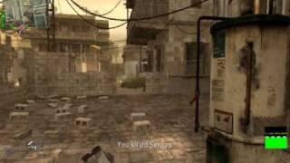 Call of Duty 4 (pc) knf mastership 13 kill streak!