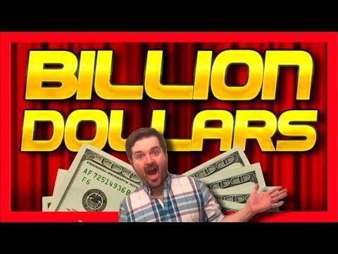 BILLION DOLLARS! IVE DONE IT! I WON A BILLION DOLLARS! Casino Slot Machine Bonuses - 동영상