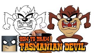 How to Draw Tasmanian Devil | Art Tutorial