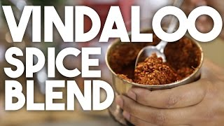 VINDALOO or VINDALHO Paste - an authentic recipe