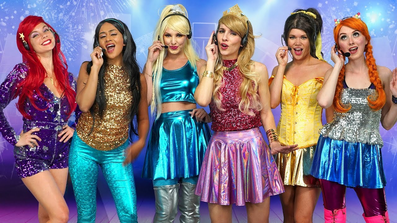 disney princess pop stars