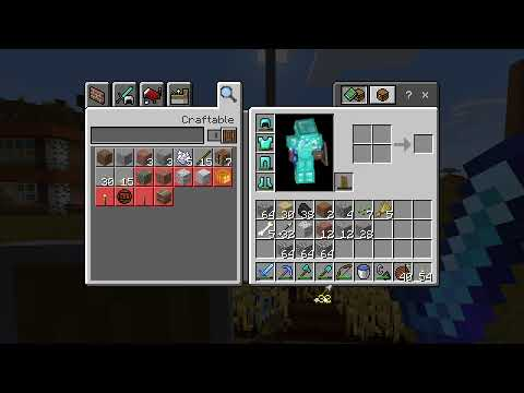 Minecraft Live - Building And Farming