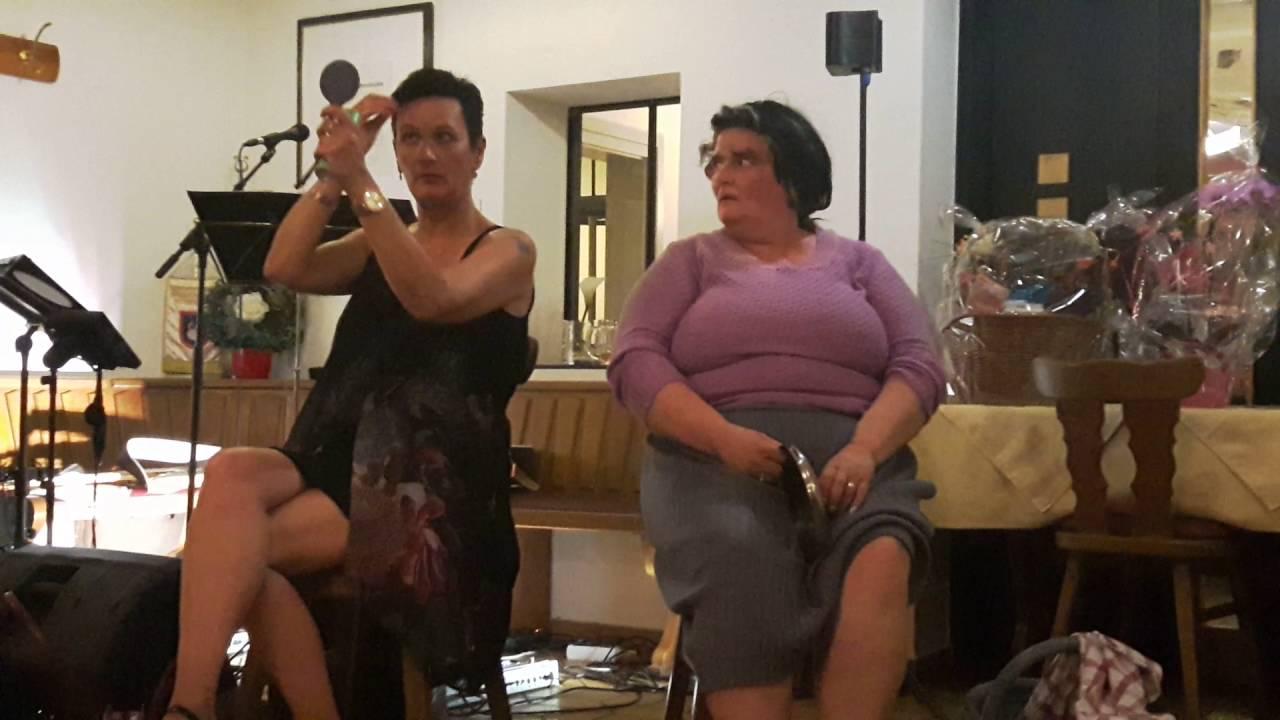 Geburtstagssketch 2 Damen im Zug - YouTube