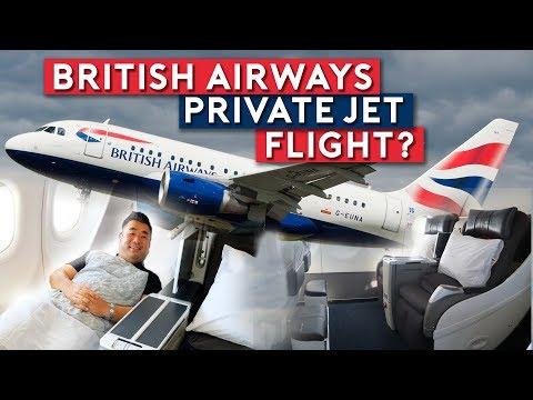 British Airways All Business Class Jet To New York