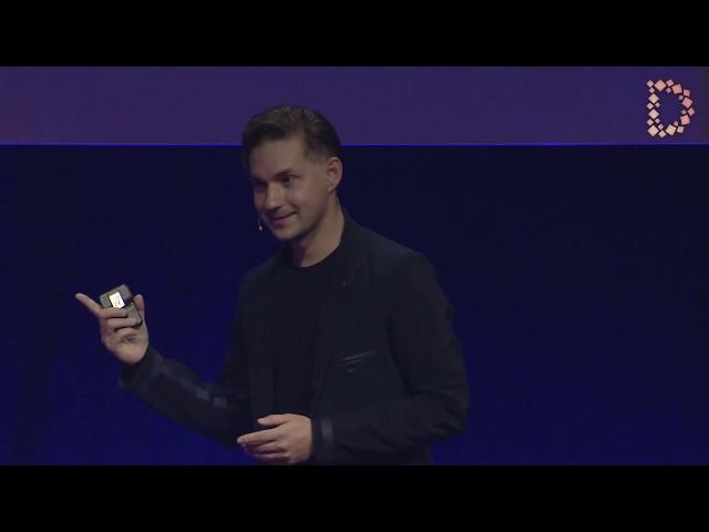 Vitaly Ponomarev (Founder & CEO WayRay) at Zürich Digital Festival