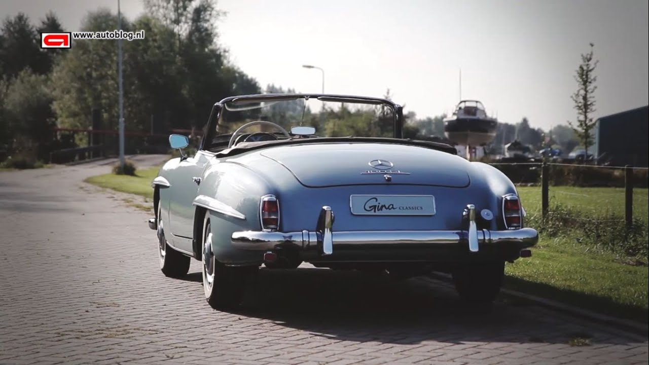Mercedes Benz 190sl Classic Review Youtube