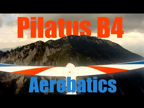 Pilatus B4 Aerobatics in the Alps --GoPro HD Hero--