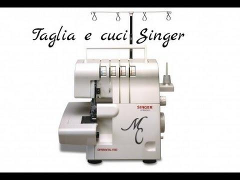 Come infilare la taglia e cuci Singer
