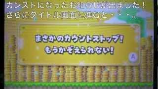 Newスーパーマリオブラザーズ2 「999万9999枚達成&金のしっぽマリオ像」