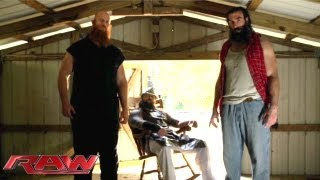 Bray Wyatt reveals more about himself: Raw, June 24, 2013