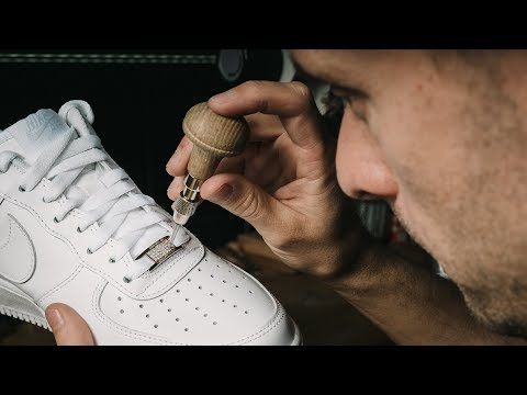 I Put $3,600 Of Diamonds Into My Air Force 1's