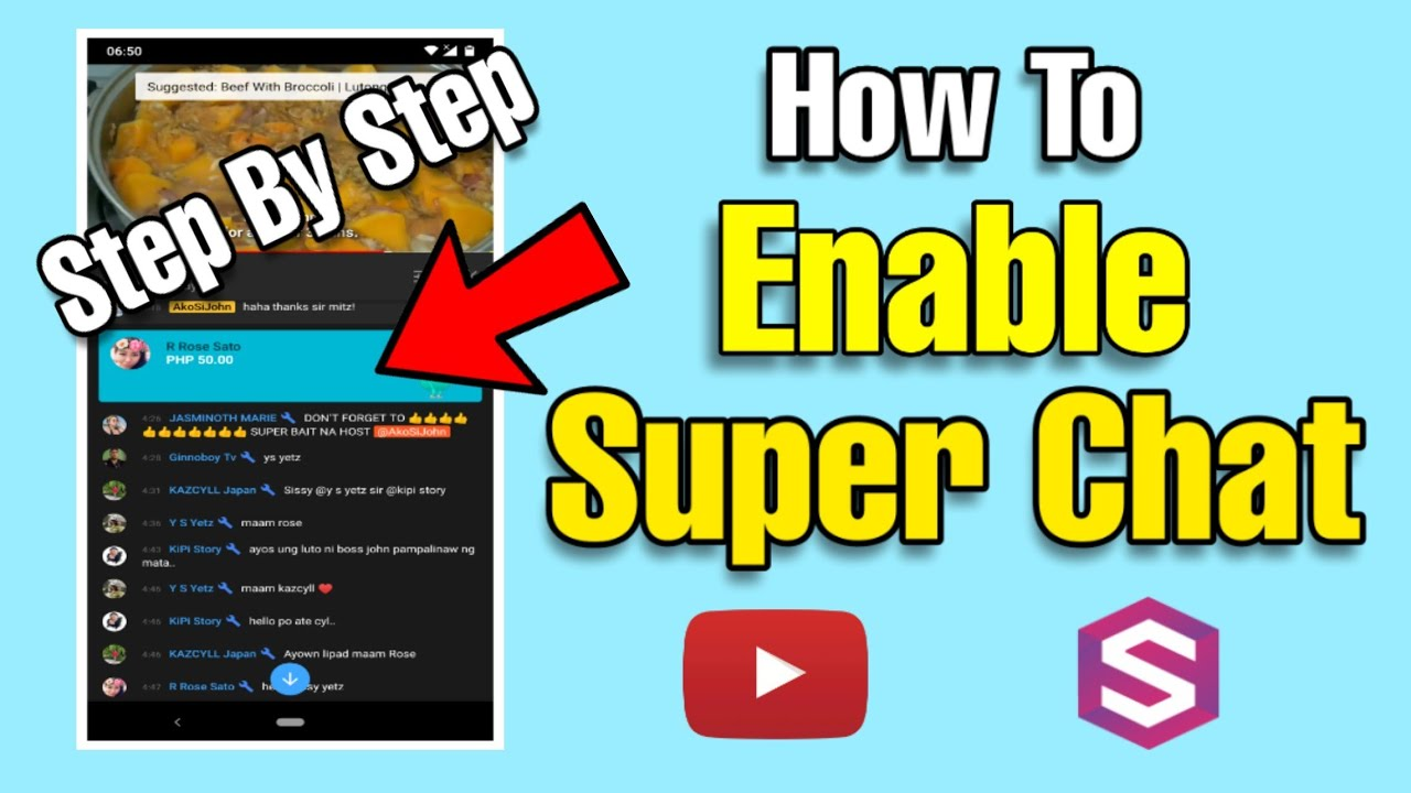 A superchat YouTube Super
