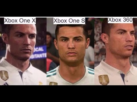 fifa 18 xbox one x vs xbox one s vs xbox 360 graphic comparison youtube. Black Bedroom Furniture Sets. Home Design Ideas